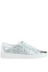 Frankie metallic effect leather sneakers Michael Michael Kors