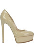 Patent-leather pumps Casadei