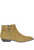 Suede ankle-boots Love Moschino