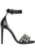 Studded leather sandals Pinko