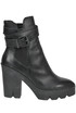 Tank leather ankle-boots Ash
