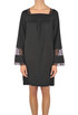 Lace inserts crepe dress Twin-set  Simona Barbieri
