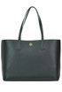 Leather shopping bag Tory Burch