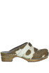 Haircalf clogs Sanita