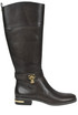 Leather rider boots Michael Michael Kors