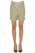 Kila linen and cotton bermuda shorts November