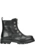 Leather boots Diesel Black Gold