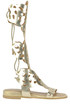 Gladiator style sandals Passion Blanche