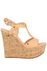 Cork wedge sandals Casadei