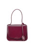Glossy leather handbag Rochas
