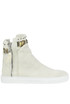 Sneakers high-top in canvas O.M.
