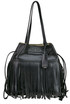 City Calf fringed bag Miu Miu