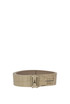 Crocodile print leather belt Patrizia Pepe