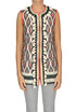 Printed cloth gilet Bazar Deluxe