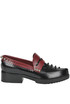 Studded leather loafers Andrea Incontri
