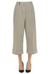 Cropped cotton trousers Peserico