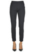 Cotton slim trousers Pinko
