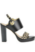 Leather platform sandals Helia
