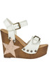 Leather wedge sandals Stella Rittwagen