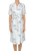 Flower print silk dress Charlotte Bialas