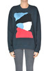 Cloth application sweatshirt Marni