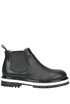 Leather Beatles ankle boots Twin-set  Simona Barbieri