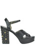 Studded leather sandals Ottod' Ame
