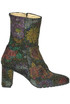 Hippy printed leather ankle-boots L'Arianna