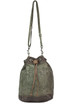 Cut-out leather bucket bag Caterina Lucchi