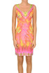 Printed sheath dress Agogoa Pin Up Stars