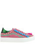 Embellished suede sneakers John Richmond