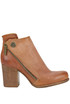 Textured leather ankle-boots A.S. 98