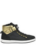 Designer logo high-top sneakers Love Moschino