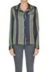 Striped satin shirt Dries Van Noten