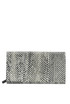 Elaphe leather wallet Jil Sander