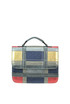 Patchwork metallic effect leather bag C.G. Berlin