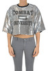 Sequined cropped top MSGM