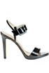 Patent-leather sandals Guess