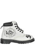 Printed leather lace-up boots Dr. Martens