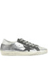 Superstar metallic effect leather sneakers Golden Goose