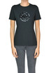 Sequined designer logo t-shirt Tory Burch