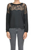 Lace insert pullover Twin-set  Simona Barbieri