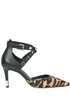 Animal print haircalf pumps Guess