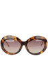Tortoiseshell cat-eye frame sunglasses LFL322C3 Linda Farrow