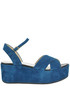 Suede wedge sandals Balear Mania
