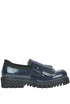 Fringed leather loafers Chiarini Bologna
