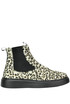 Animal print haircalf ankle-boots Patrizia Pepe
