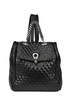 Textured leather backpack Ermanno Scervino