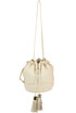 Grainy leather bucket bag See by Chloé