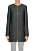 Textured cloth coat Fausto Puglisi